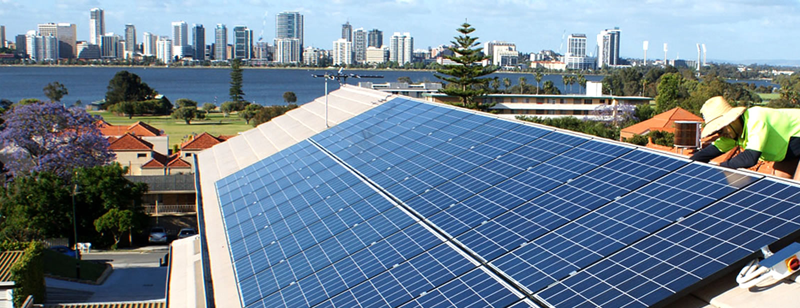 Solar Installation Image Perth western Australia